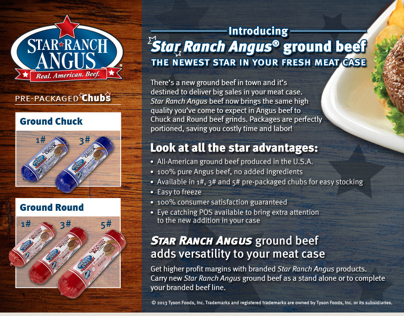 Star Ranch Angus® - Ground Beef Promotion