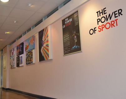 The Power of Sport Art & Creative Writing Exhibtion