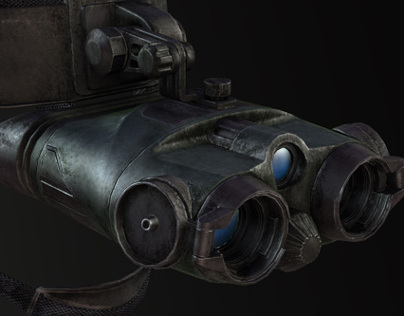 Weapon Art in REKOIL (Night Vision Goggles)