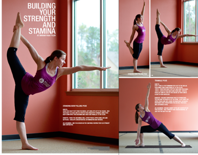 FITNESS LAYOUT / BSCENE MAGAZINE
