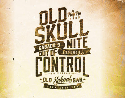 OLD SKULL - OUT OF CONTROL