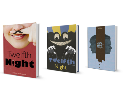 Book Jacket Redesign: Twelfth Night