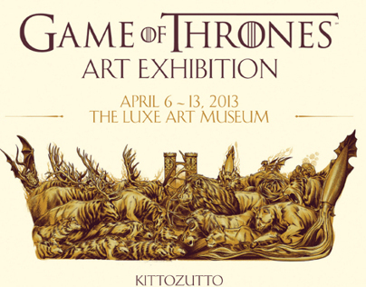 HBO Game of Thrones Art Exhibition