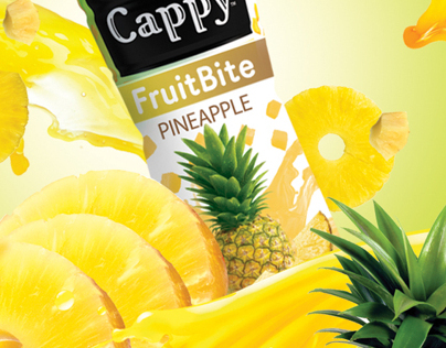 Cappy Pineapple & Guava launch