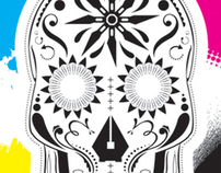 LMD Design Inspired Sugar Skull