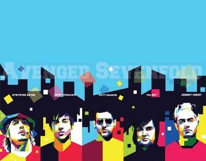 WPAP ( Wedhas Pop Art Potrait )