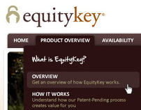 EquityKey SharePoint Web Redesign Project