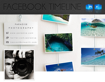 Customisable Facebook Timeline Cover