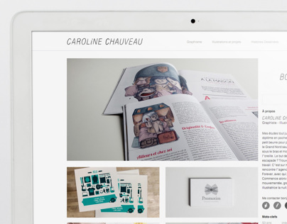 Carreauxline.fr - Site internet