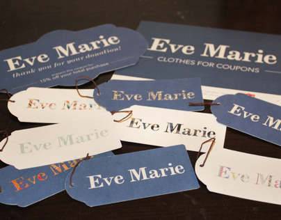 Eve Marie Logo and Branding