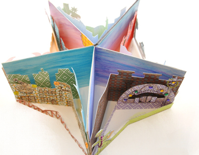 Travel Encyclopedia: Carousel/Pop-up Book