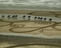Walking Drawings : Cumbrian Heavy Horses