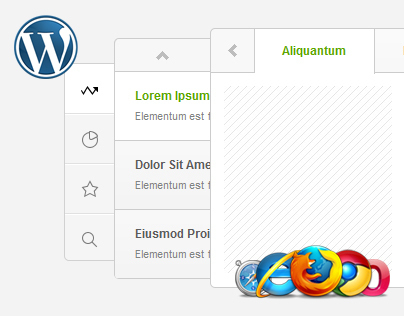Sliding Tabs WordPress Plugin