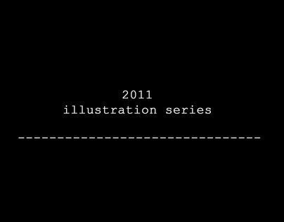 2011 illustration series