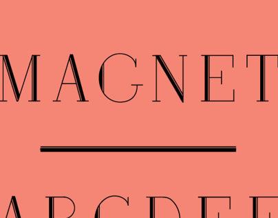 Magnet Typeface