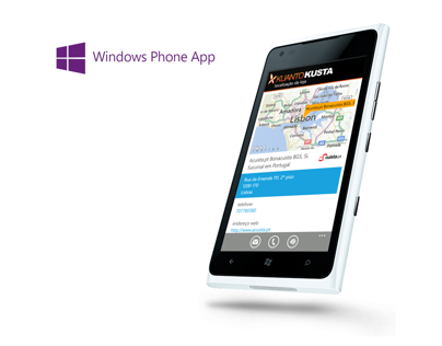 Kuantokusta's Windows Phone app