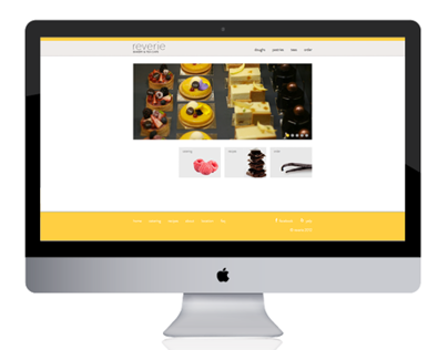 reverie: tea & bakery Website