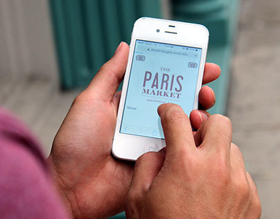 Paris Market Responsive Website