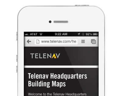 Telenav Headquarters Campus Wayfinding