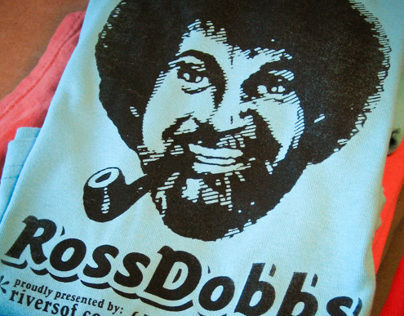 Ross Dobbs: hand-silk-screened t-shirt