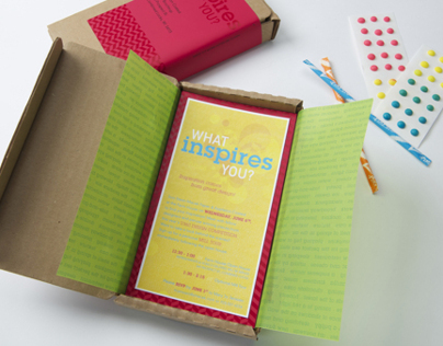 """What Inspires You?"" Party Invitation"