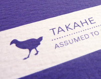 Takahe - Informative Postcards