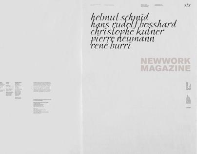 NEWWORK MAGAZINE, Issue 6