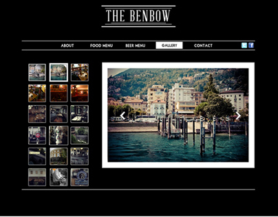 Work in progress The Benbow Web Design