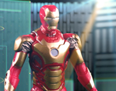 Cartoon Network - Hasbro Iron Man 3 Assemblers