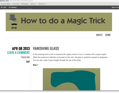 Blog: How to do a Magic Trick