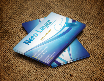 Nero Layer business card