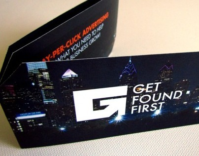 Get Found First custom brochure