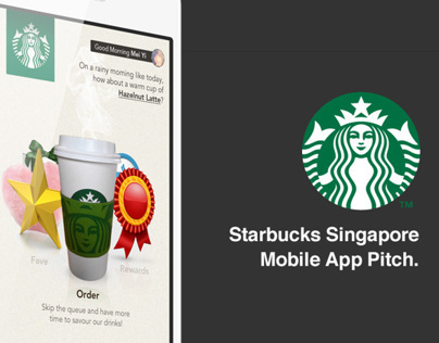 Starbucks Singapore Mobile App Pitch