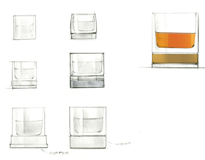 Auchentoshan Scotch Glass