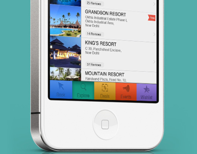 iPhone Travel App