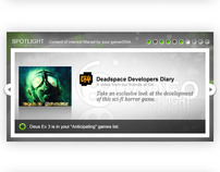 gamerDNA Featured Content Template
