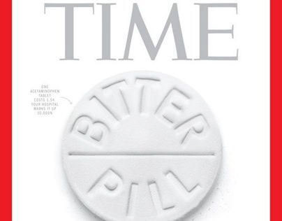 TIME • Bitter Pill • Magazine Cover