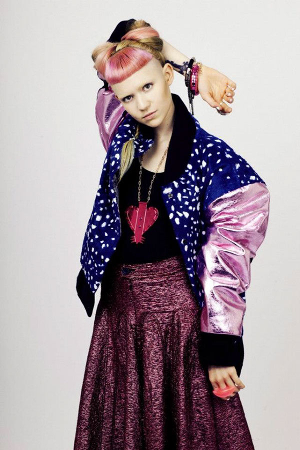 Grimes - IDOL Magazine Issue 4