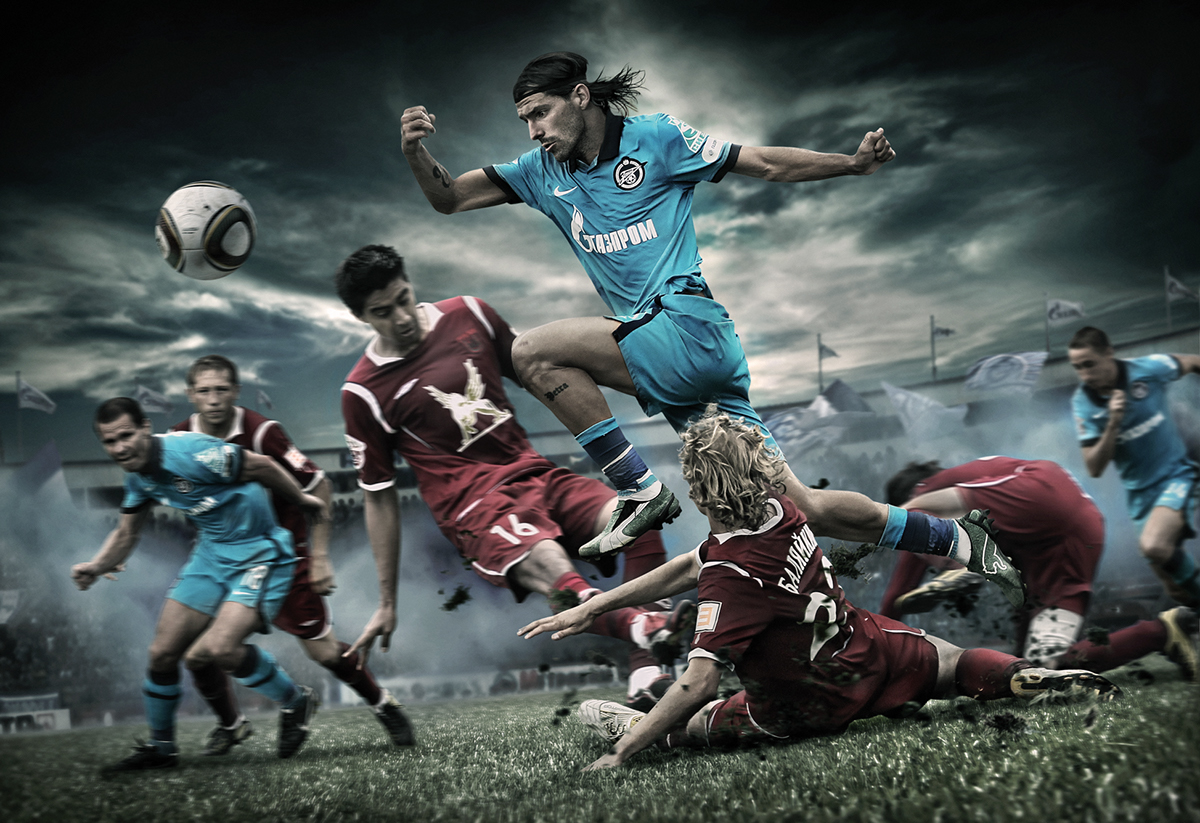 FC Zenit posters and 2011 calendar