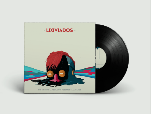 Lixiviados / Album cover