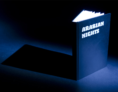 Experimental book design: 1001 Arabian nights