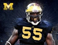 Michigan Football Poster