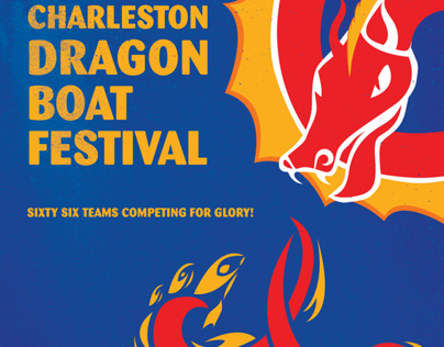 Charleston Dragon Boat Festival Poster 2013