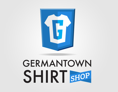 GTown Shirt Shop Logo Concept