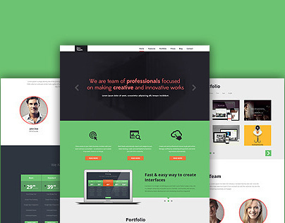 DevTeam | PSD template