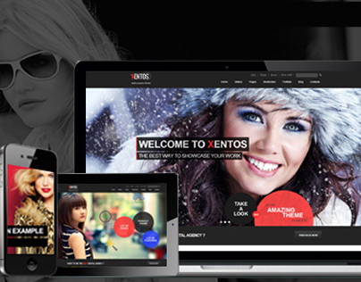Xentos - MultiPurpose HTML5 Template