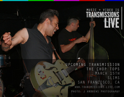 Transmissions-LIVE Episode #3 The Chop Tops