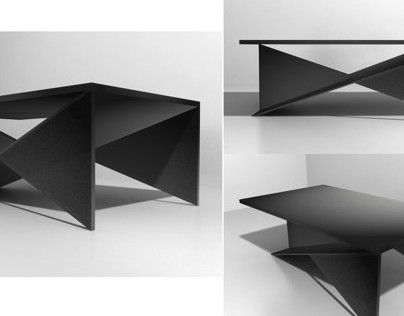 Coffee Table Design & Rendering