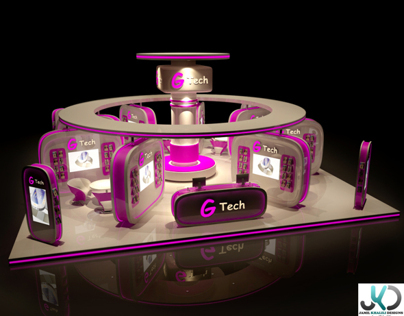 G-Tech Exhibition Booth