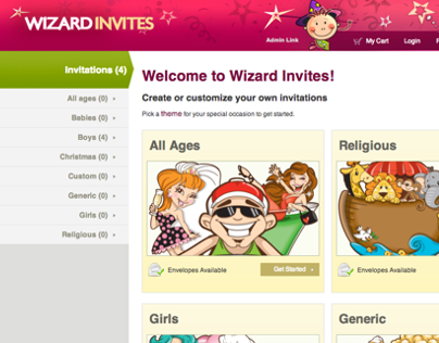 Wizard Invites